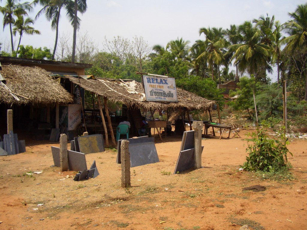 Fast-food in Auroville