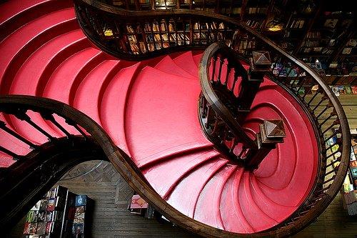 escalera-de-la-libreria