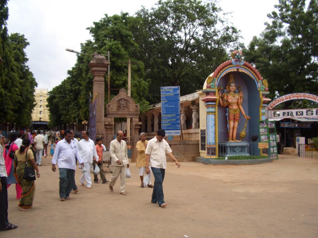intrare spre un templu
