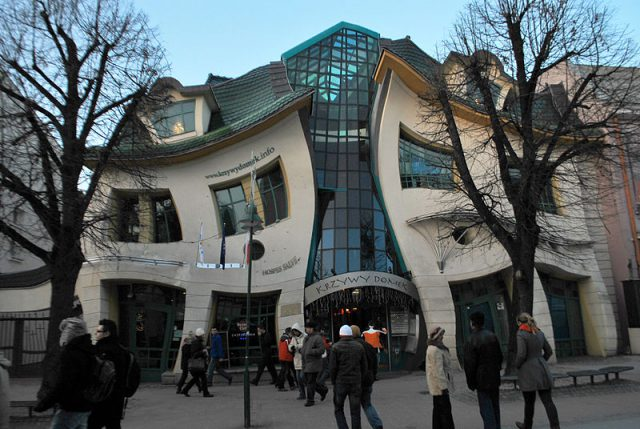The_Crooked_House_of_Sopot,_Poland_(3173810231)