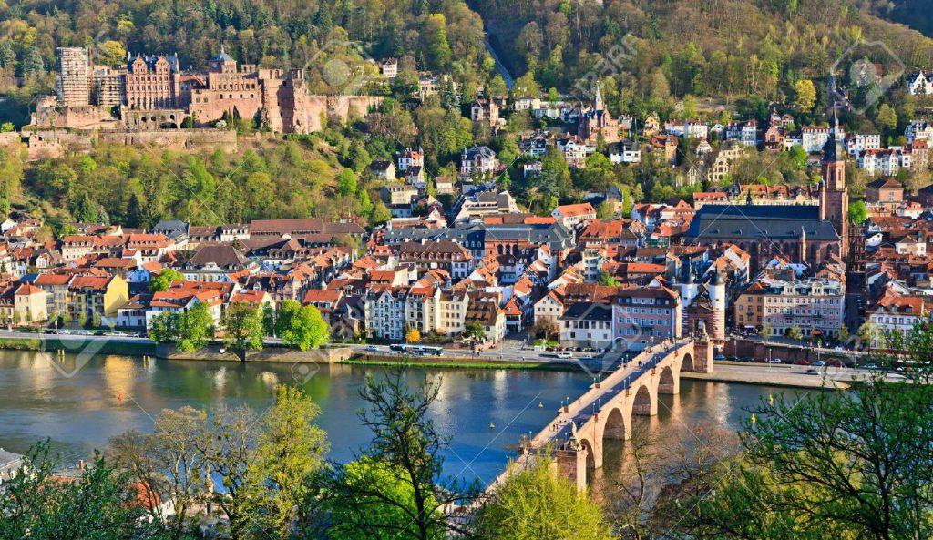 7606041-Heidelberg-at-spring-Germany-Stock-Photo