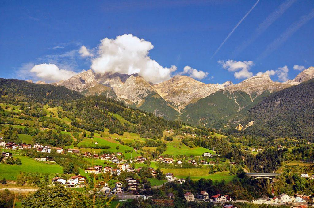 St. Anton view