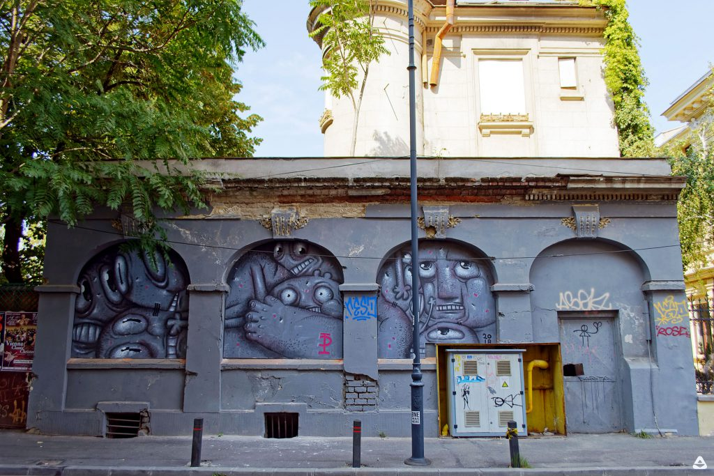 Un-hidden Bucharest Pisica Pătrată 1